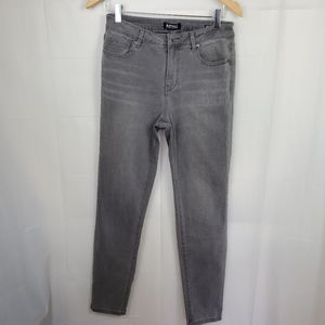 David Bitton grey mid rise soft skinny Jean's sz8